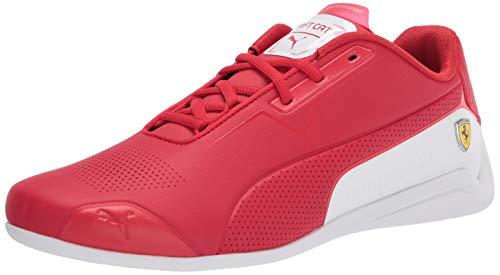 PUMA Men's Ferrari Drift CAT 8 Sneaker, Rosso Corsa White, 6