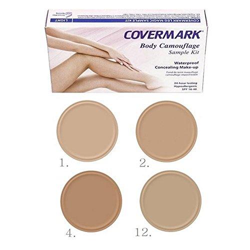 Maquillaje corporal Covermark, para piernas, tonos claros