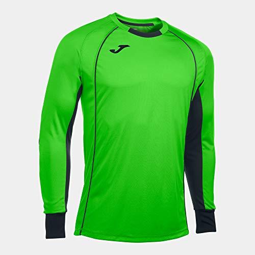 Joma Camisetas de Portero, Hombre, Verde Fluor, XL