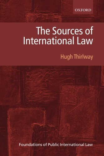 The Sources of International Law (Foundations of Public International Law)