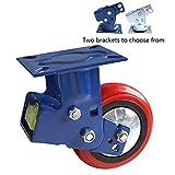 Roulettes amortissantes à double ressort de 125/150 mm, roues amortissantes d'usine automobile, amortisseurs...