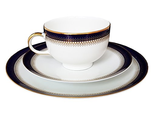 Mitterteich Bavaria - Juego de café de Porcelana (3 Piezas)