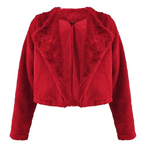 nobrand WintermantelFrauenWollmantelMode Frauen Winter WarmeKurzjacke Outwear Kurzmantel Mantel