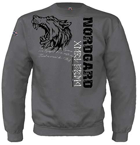 NORDGARD Viking Sweatshirt Odins WÖLFE (M)