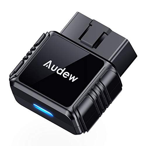 Audew OBD2 Bluetooth Scanner with Free App and Battery Test,Code Reader Car Diagnostic Tool for iOS & Android