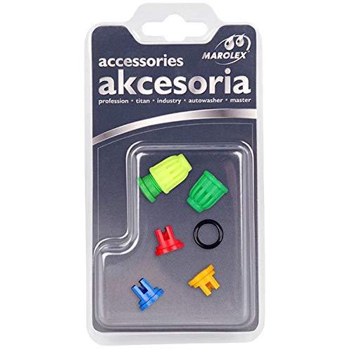 Marolex Set mit 5 Düsen und 1 O-Ring für Spritzdüsen und die meisten Anderen Marken