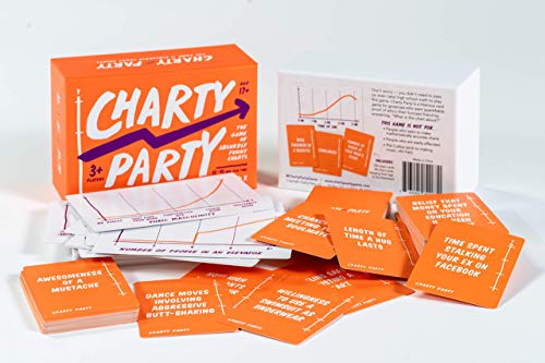 Charty Party  The Adult Card Game of Absurdly Funny Charts Graphs and Data Visualization