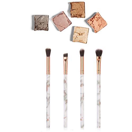 IFOUNDYOU 4Pcs Multifonctionnel Pinceau De Maquillage Correcteur De Fard à PaupièRes Outil De Pinceau