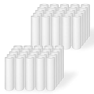 "Ronaqua 50 Pack of Melt-blown Four Layers Filtration Polypropylene Sediment Filters 10""x 2.5"""