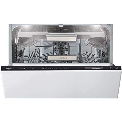 Lave vaisselle encastrable Whirlpool WIF4O43DLGTE - Lave vaisselle tout integrable 60 cm - Classe A+++-10% / 42 decibels - 14 couverts - Tiroir a couvert