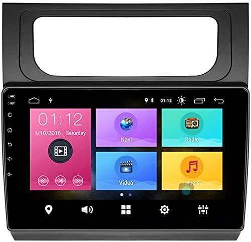 Laytte Navegación para Automóviles para Volks Wagen Touran 2011-2015 Estéreo Pantalla Táctil Radio Android Entretenimiento Multimedia Radio Doble DIN Estéreo WiFi,4core 4g WiFi:2+32gb