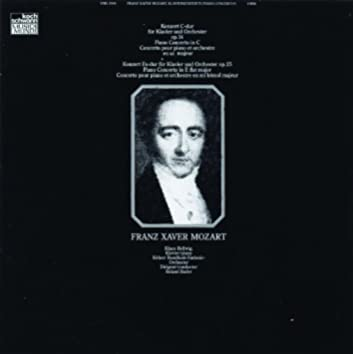 Piano Concerto in C, Op.14 - Piano Concerto in E flat Op.25