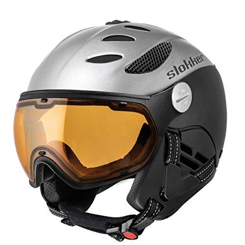 Slokker Balo Unisex skihelm zwart - 58-60 cm
