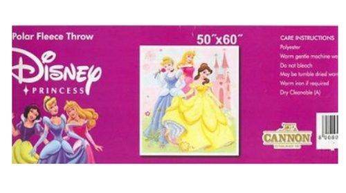 Disney Princess Polar Fleece Throw 50' X 60' (By...