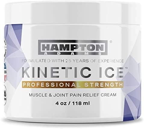 4 oz Hampton Adams Pain Relief Cream Maximum Strength for Arthritis Muscle Joint Pain Relief product image