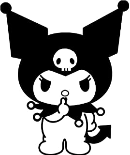 Kuromi - 5 Inch Apple Macbook Laptop Decal
