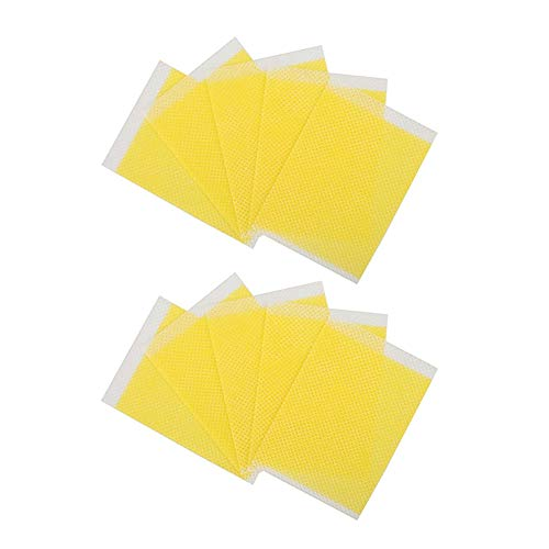 YIDAINLINE 10pcs / Bag Sleeping Slimming Patches, Weight Loss Sticker Fat Burning Slimming Patch Pad for Belly Waist Arm, Fat Away Sticker for Quick Slimming