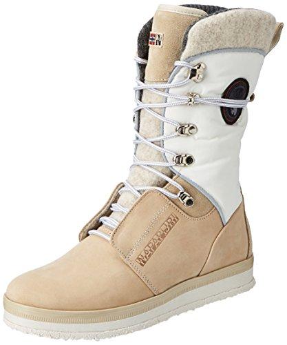 Napapijri Footwear Damen Gaby Schneestiefel, Beige (Kilim Beige), 41 EU