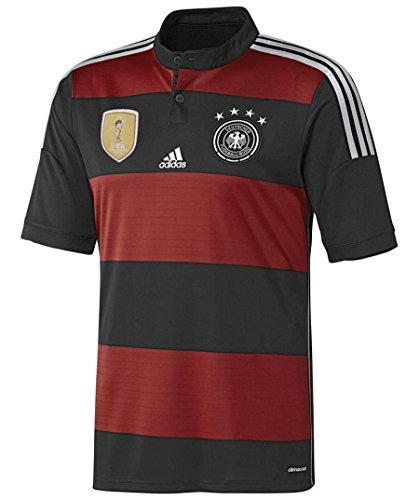 Adidas DFB A JSY Y(4S) Größe 152 Schwarz (BLACK/VICRED)