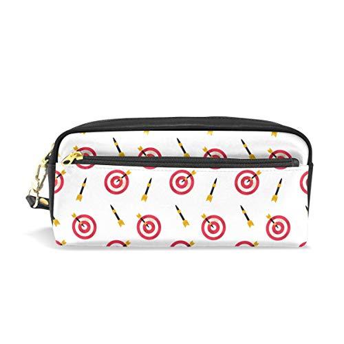 darts spel potlood ponch case pen tas rits jongen meisje tiener vrouwen college school schrijven levering