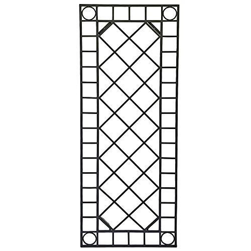Harms Exterior wall decor trellis garden decoration patio trellis trellis black 507264