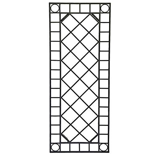Unbekannt Außen Wand Dekor Gitter Garten Dekoration Terrasse Rankgitter Spalier schwarz Harms 507264