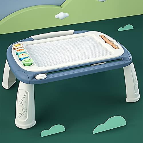 Yajie Tablero de Dibujo para niños Tablero de Graffiti magnético para niños del hogar Puede borrar Tablero de Escritura magnético para bebés Juguetes de 1-3 años