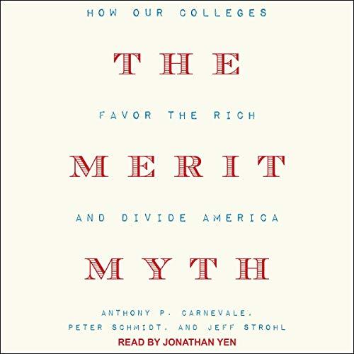 The Merit Myth audiobook cover art