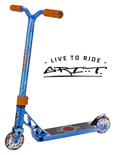 Grit Fluxx Mini Pro Scooter Satin Blue/Silver