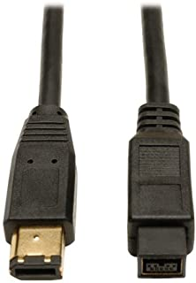 Tripp Lite FireWire 800 IEEE 1394b Hi-speed Cable (9pin/6pin) 6-ft.(F017-006)