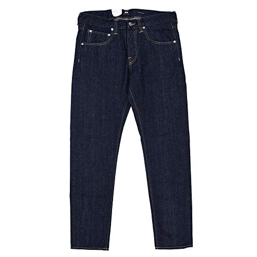 Edwin ED-55 Red Listed Selvage Jeans Blue Rinsed