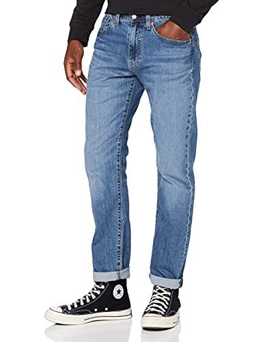 Levis Heren 502 Taper Jeans, Squeezy Coolcat, 36W x 32L