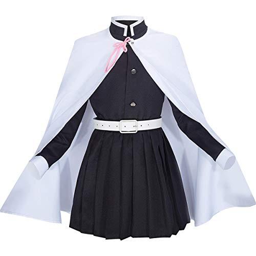MIAOCOS Anime Demon Slayer Tsuyuri Kanao Cosplay Kid Girls Uniform Costume Child Dress Kimetsu no Yaiba Kimono Costumes
