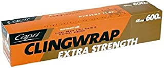 Clear Economy Cling Film - 45cm - ROLL - Food Packaging, Plastic Wrap - Kent Paper