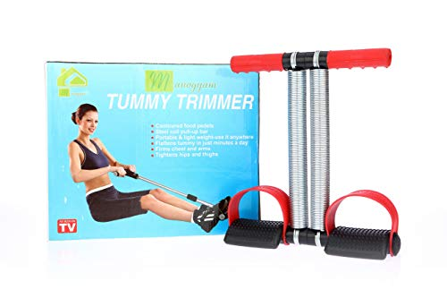 Manogyam DTTRB 01 Steel Double Spring Multipurpose Tummy Trimmer-Ab Exerciser (Multicolour)