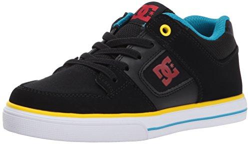 DC DC Unisex-Kind reine elastische Schuhe, 35, Black/Multi