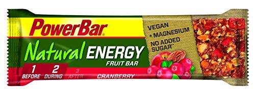 PowerBar Natural Energy Fruit-Nut 6 x 40g Riegel Cranberry