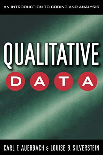 Qualitative Data: An Introduction to Coding and Analysis (Qualitative Studies in Psychology)