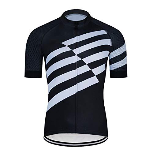 GRTE Maillot Ciclismo Hombre Camiseta Ciclismo,Camiseta de Ciclismo para Hombres Tallas Grandes,...