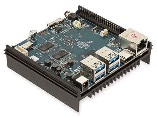 ODROID-N2 Einplatinen-Computer mit 4 GByte RAM, Mini PC Server Selbstbau PC Single Board Einplatine, eMMC, QuadCore, Android und Linux Betriebssystem