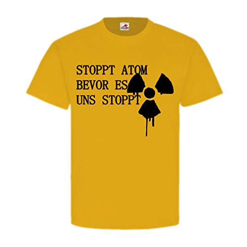 Stoppt Atom Aachen krachtcentrale Tihange België Supergau Demo T shirt #19959