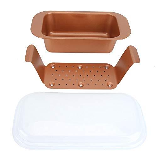 Herramienta de bandeja de bricolaje para el hogar, cocina, acero al carbono, horno antiadherente, horno microondas, molde de pastel para hornear