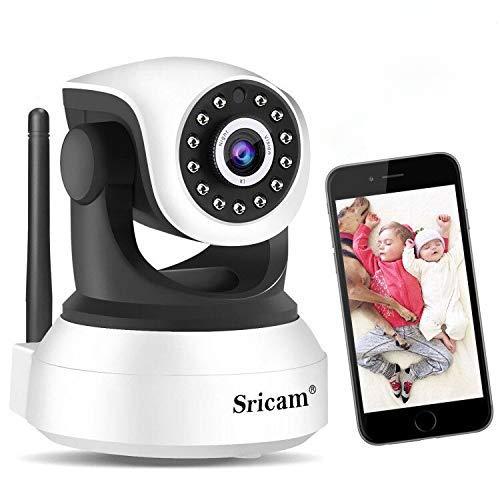 Cámara de Vigilancia WiFi Sricam SP017, Cámara IP 1080P Be