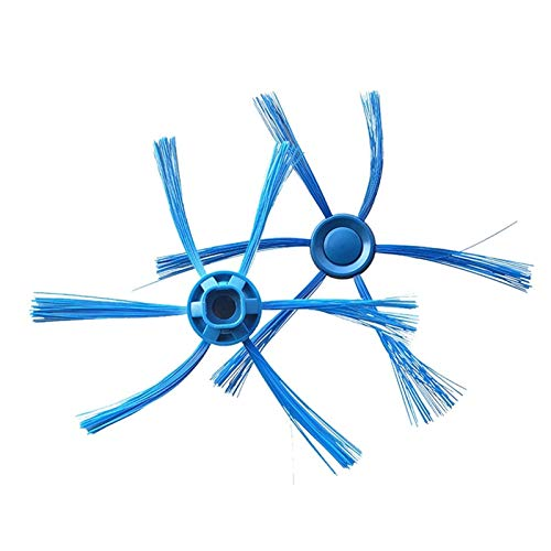 XU-XINGFU XXF-LX, 2pcs Azul cepillos Laterales en Forma for Philips FC8796 FC8794 FC8792 Robot Limpiador Reemplazar Reino Unido