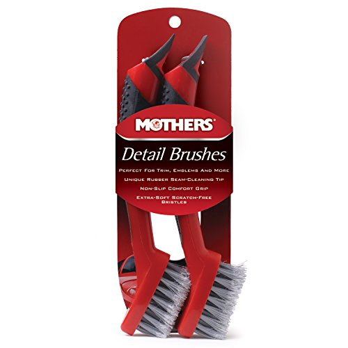 Mothers - 156200 Detail Brush Set - 2 Pack