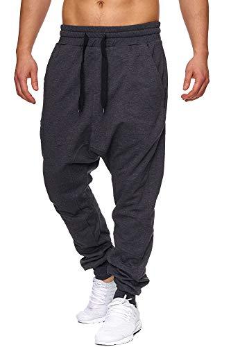 Efo Style Haremstil E501 - Pantalones de Deporte para Hombre Amarillo M