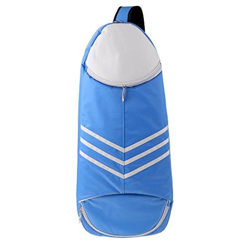 NON 1 Unid de Bolso de Raqueta de Bádminton Deportivo Paquete de Múltiples Suministros de Deportes - Azul