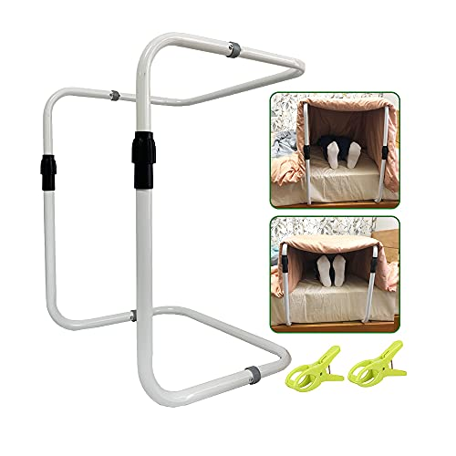 Blanket Lifter Foot Surgery Tent Cradle Bed Sheet Lifter Blanket Lift Bar Support Medical Tent Adjustable Blanket Holder for Bed Feet Ankle Surgery Recovery Arthritis Leg Cramps Gout Care