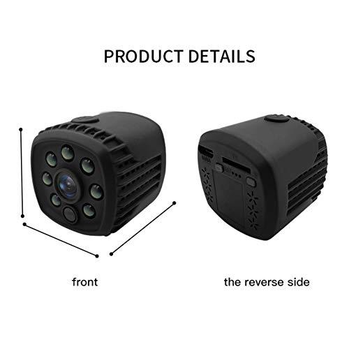 Mini cámara con monitor IP de Etophigh HD1080P, videocámara...