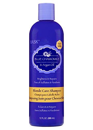 HASK Blue Chamomile & Argan Oil Blonde Care Shampoo 12oz